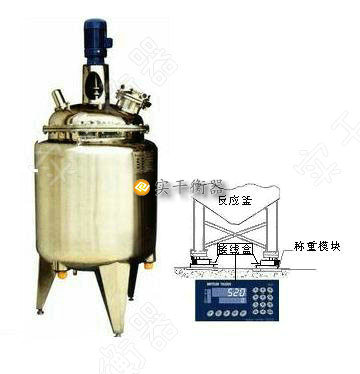 上海50吨反应罐防爆称重模
