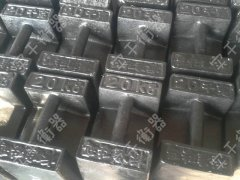 现货批发铸铁砝码厂家